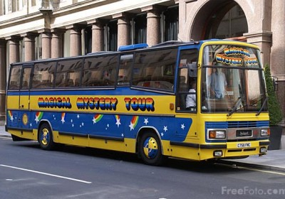The Magical Mystery Tour Bus