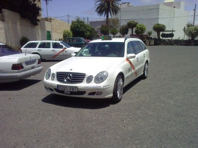 Taxi from the island of Gran Canaria