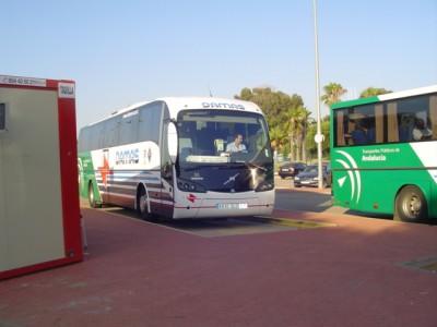 Autobus à Huelva