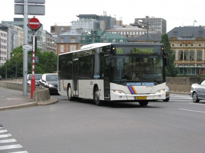 Luxembourg bus