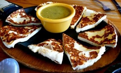 fried panela cheese