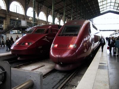 Brussels train