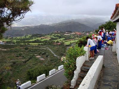 The walk through Bandama