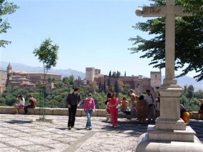 The Alhambra from the Mirador de San Nicolás