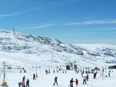 Snow in Portugal