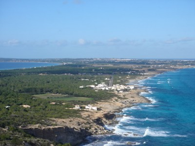 Beaches and coves of Formentera