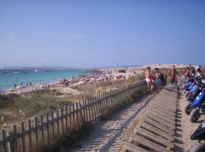 Illetes in Formentera