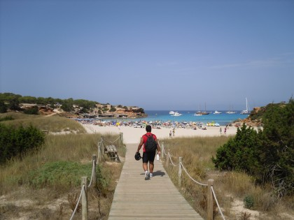 Beaches and coves Formentera