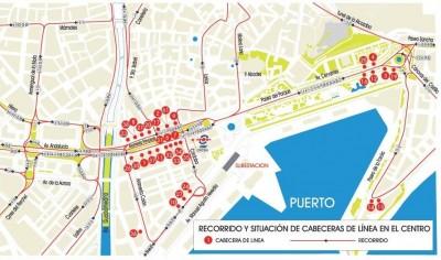 Malaga urban plan