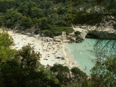 Cala Mitjana of Menorca