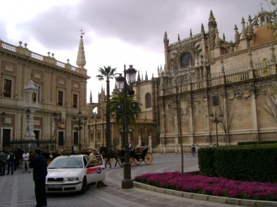 Taxi in Seville