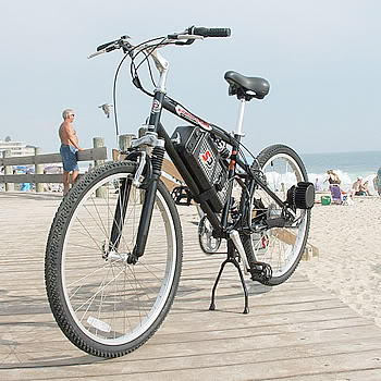 Electric bicycle in Formentera