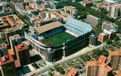Valencia CF football stadium