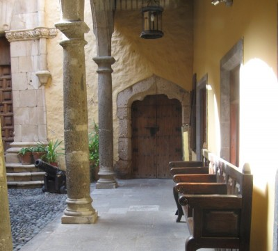 Courtyard of the Casa Colón