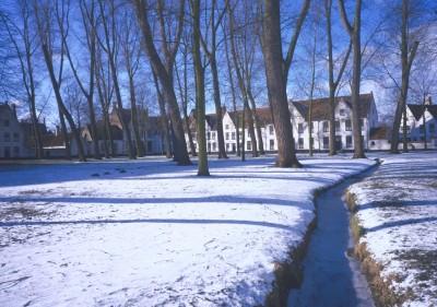 Winter in Belgium