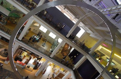 Central Hall of the London Science Museum