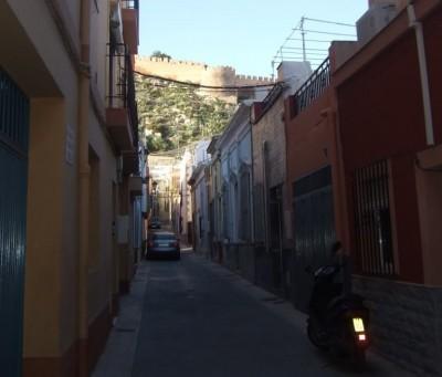 The Alcazaba from the Almedina
