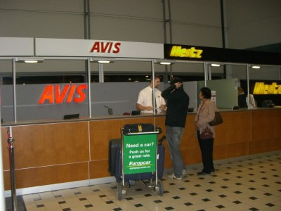 Rent a car in Valencia Airport