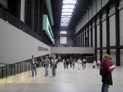 Hall of the Tate Modern