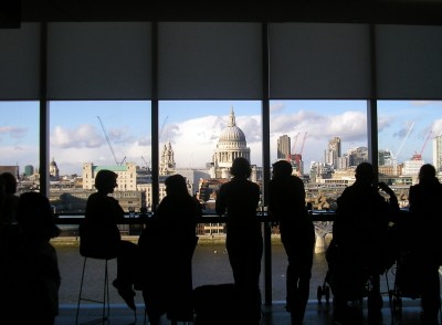 View from the Tate Modern Bar
