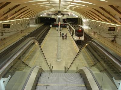 Valencia Metro Station