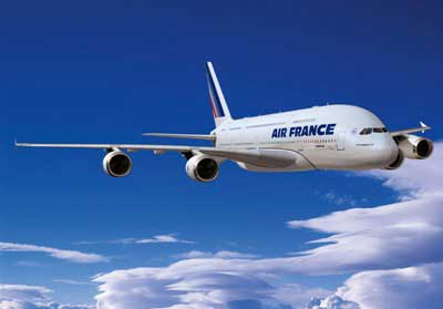 Air France arrives in French Polynesia
