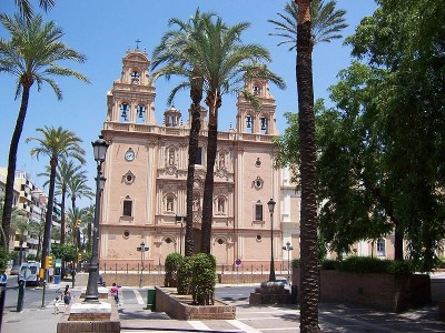 Cathedral in Huelva