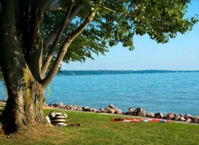 Summer in Lake Balaton
