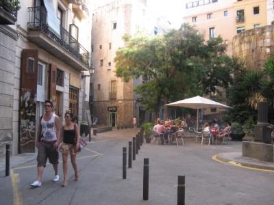Barcelona terraces