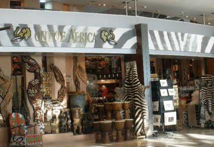 Shops in Cape Town Airport