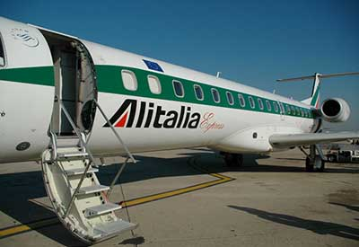 Alitalia in Holland