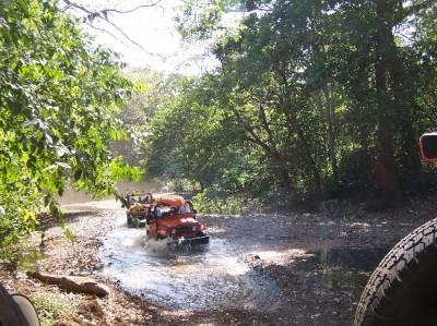 Off Road in Tamarindo