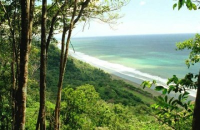 Beach in Costa Rican South Pacific
