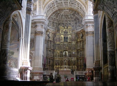 Main Altar of the Basilica