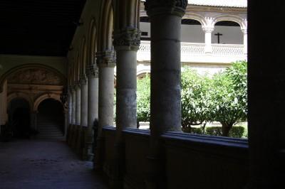 Cloister of the Monastery of San Jerónimo