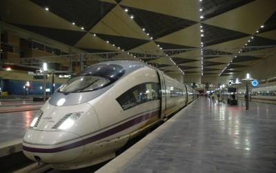AVE à Barcelone