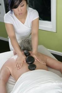 Spas in Santiago de Compostela stone massage