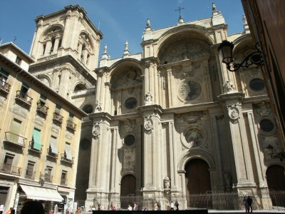 Facade of the Cathedral of Granada