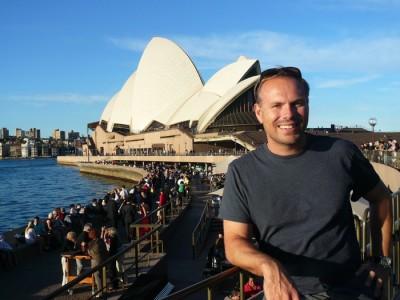 Strolling through Sydney