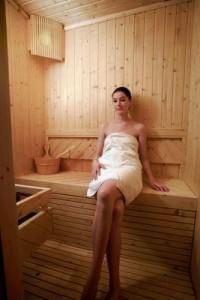 Spa in Bilbao sauna