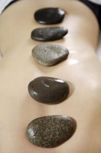 Spa in Bilbao stones