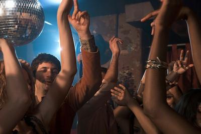 Revival disco dancing