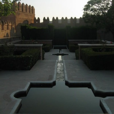 Fountains of the Alcazaba