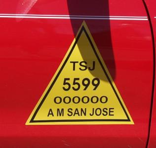 Taxi identifier