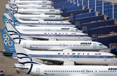 Aegean Airlines aircraft