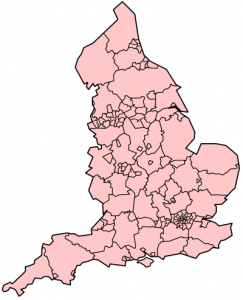 England map divisions