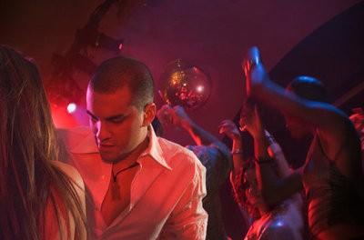 Queen disco dancing