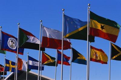 Ivory Coast Embassy flags