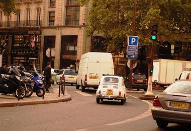 Cars to get to Paris