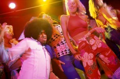 Guru disco dancing